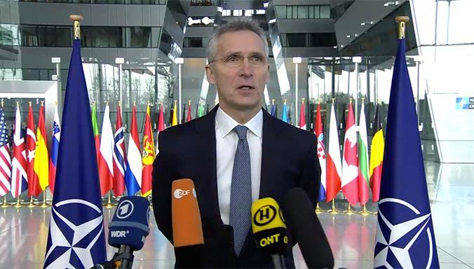 NATO S.G Press conference